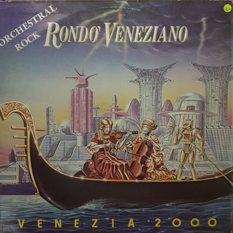 Rondò Veneziano ‎– Venezia 2000 -  Vinyl LP Record - Very-Good+ Quality (VG+)