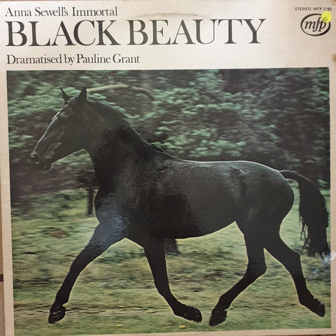 Anna Sewell Dramatised For Records By Pauline Grant ‎– Anna Sewell's Immortal Black Beauty - Vinyl Record - Opened  - Very-Good Quality (VG)