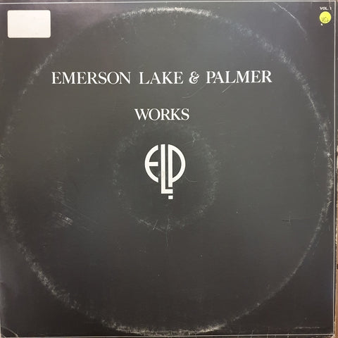 Emerson, Lake & Palmer ‎– Works -  Vinyl LP Record - Very-Good+ Quality (VG+)