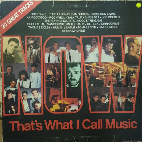 Now That's What I Call Music 1 ‎– Vinyl LP Record - Opened  - Good+ Quality (G+)