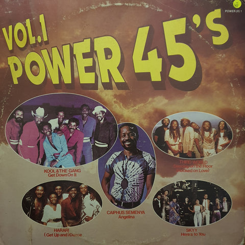 Power '45's - Vol 1 - Vinyl LP Record - Opened  - Very-Good- Quality (VG-)