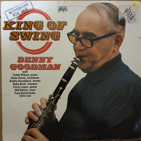 Benny Goodman - King Of Swing - Vinyl LP Record - Opened  - Very-Good Quality (VG)