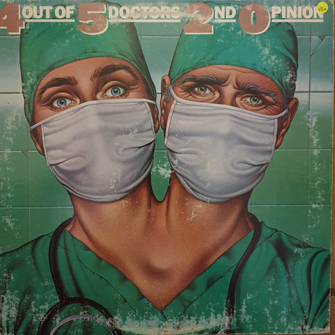 4 Out Of 5 Doctors ‎– 2nd Opinion -  Vinyl LP Record - Very-Good+ Quality (VG+)