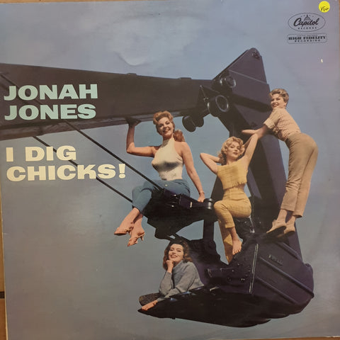 The Jonah Jones Quartet - I Dig Chicks! -  Vinyl LP Record - Very-Good+ Quality (VG+)