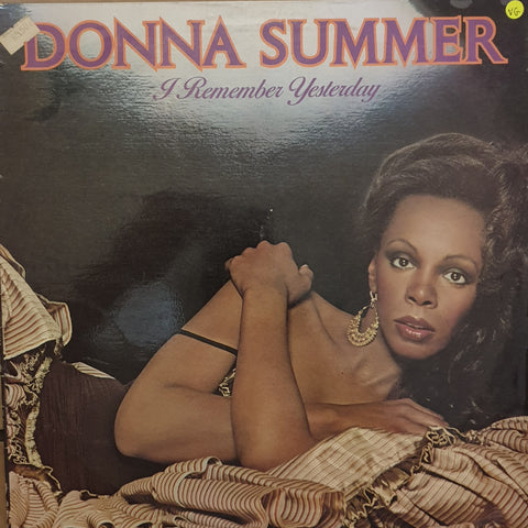 Donna Summer - I Remember Yesterday  - Vinyl LP Record - Opened  - Very-Good Quality (VG)