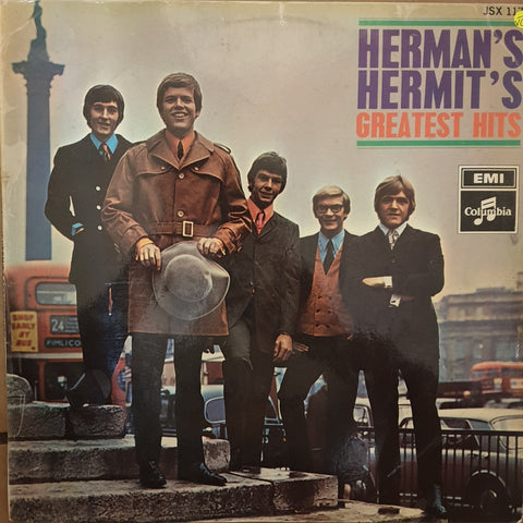 Herman's Hermits Greatest Hits  - Vinyl LP Record - Opened  - Very-Good- Quality (VG-)