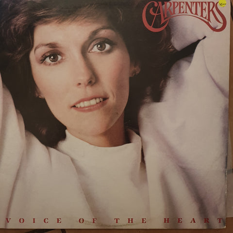 Carpenters - Voice Of The Heart - Vinyl LP Record - Opened  - Very-Good+ Quality (VG+)