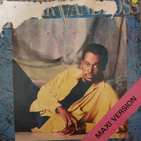 Luther Vandross - Stop To Love - Vinyl Maxi Record - Opened  - Very-Good Quality (VG)
