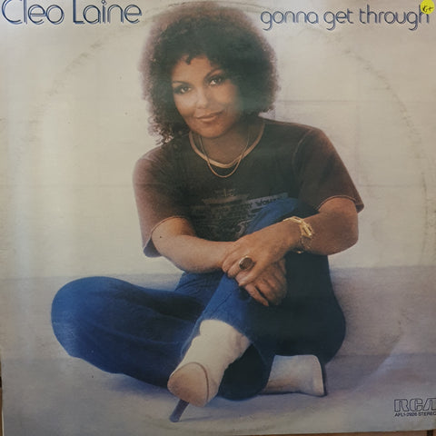 Cleo Laine ‎– Gonna Get Through -  Vinyl LP Record - Very-Good+ Quality (VG+)