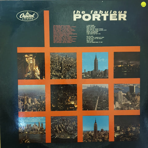 Cole Porter ‎– The Fabulous Porter -  Vinyl LP Record - Very-Good+ Quality (VG+)