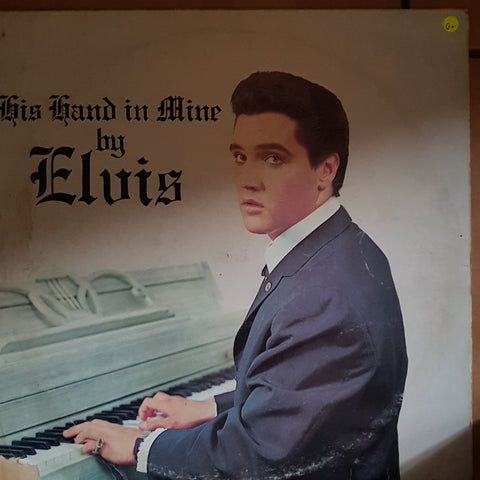 Elvis - His Hand in Mine ‎– Vinyl LP Record - Opened  - Good+ Quality (G+)