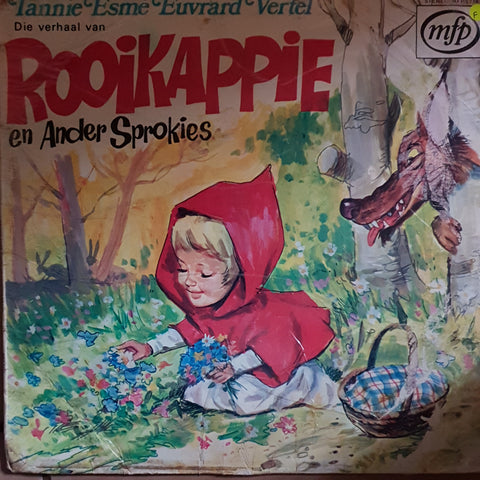 Monica Breed - Rooikappie en Ander Sprokies - Vinyl LP Record - Opened  - Fair Quality (F)