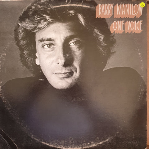 Barry Manilow - One Voice -  Vinyl LP Record - Very-Good+ Quality (VG+)