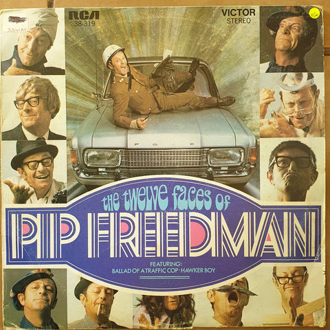 Pip Friedman - The Twelve Faces Of Pip Friedman -  Vinyl LP Record - Very-Good+ Quality (VG+)