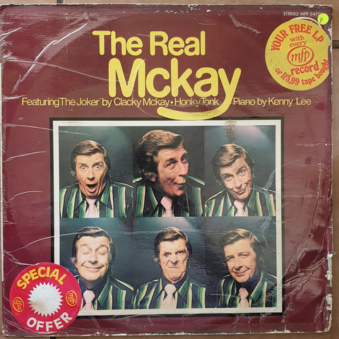 Clacky McKay - The Real McKay - Vinyl LP Record - Opened  - Fair Quality (F)