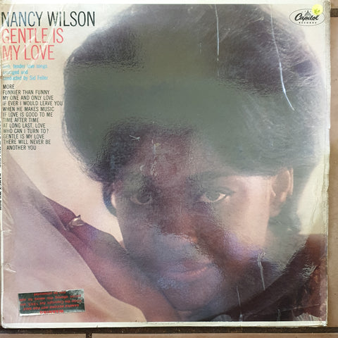 Nancy Wilson ‎– Gentle Is My Love -  Vinyl LP Record - Very-Good+ Quality (VG+)