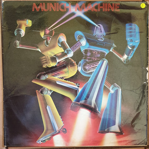 Munich Machine - Vinyl LP Record - Opened  - Good Quality (G)