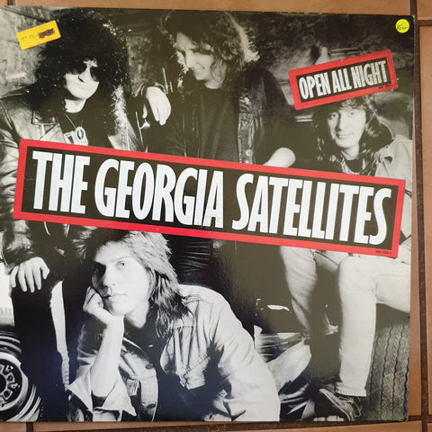 Georgia Satellites - Open All Night  - Vinyl LP - Opened  - Very-Good+ Quality (VG+)