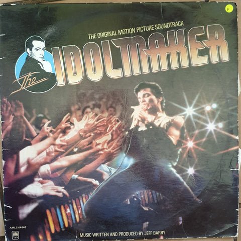 Idolmaker - Original Soundtrack - Vinyl LP Record - Opened  - Fair Quality (F)