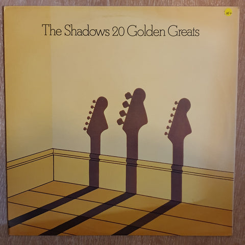 Shadows - 20 Golden Greats - Vinyl LP - Opened  - Very-Good+ Quality (VG+)