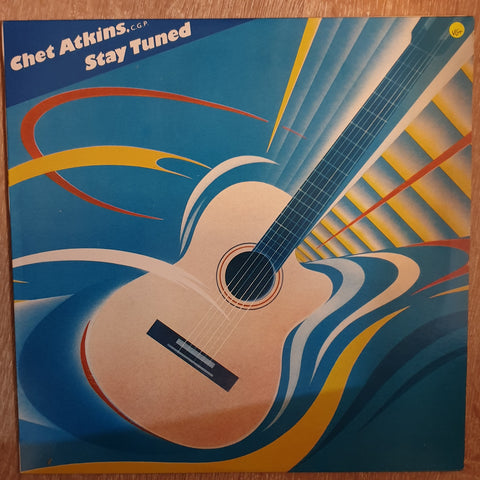 Chet Atkins - Stay Tuned - Vinyl LP - Opened  - Very-Good+ Quality (VG+)