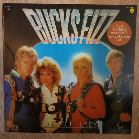 Bucks Fizz ‎– Are You Ready? - Vinyl LP - Opened  - Very-Good+ Quality (VG+)