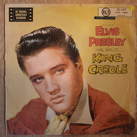 Elvis Presley ‎– King Creole - Vinyl LP Record - Opened  - Good Quality (G)