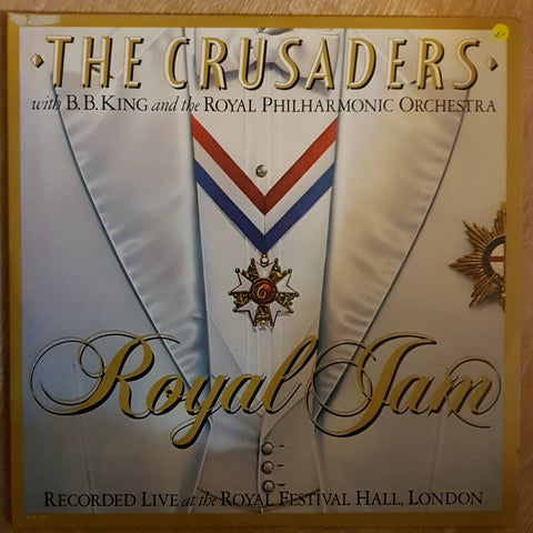 The Crusaders With B.B. King & The Royal Philharmonic Orchestra ‎– Royal Jam -  Vinyl LP Record - Very-Good+ Quality (VG+)