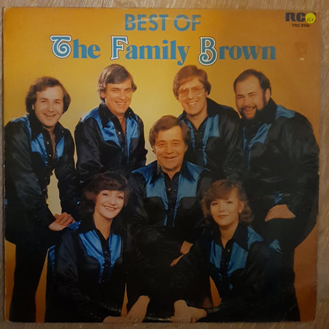 The Family Brown ‎– The Best Of -  Vinyl LP Record - Very-Good+ Quality (VG+)