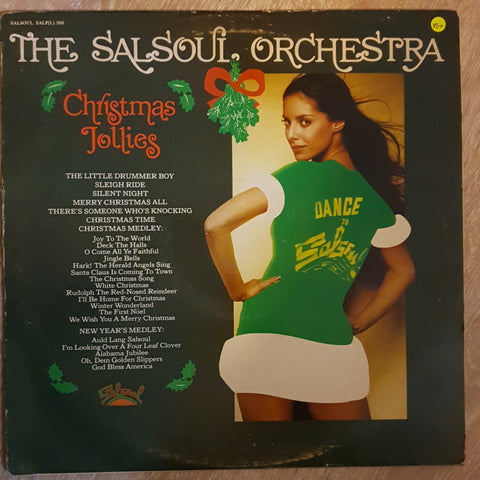 Salsoul Orchestra - Christmas Follies -  Vinyl LP Record - Very-Good+ Quality (VG+)