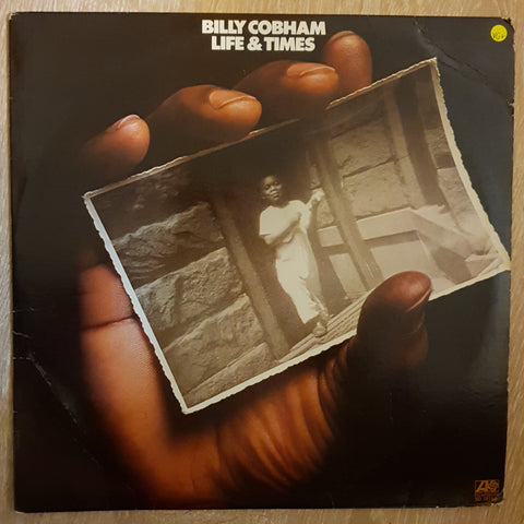 Billy Cobham ‎– Life & Times -  Vinyl LP Record - Very-Good+ Quality (VG+)