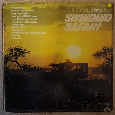 Sounds Like a Swinging Safari - Vinyl LP Record - Opened  - Good Quality (G)