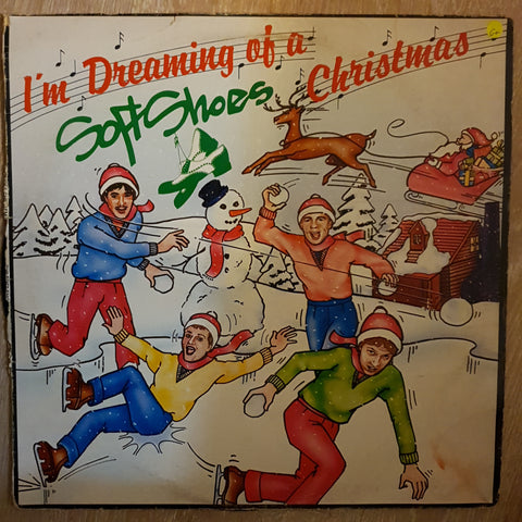 Soft Shoes - I'm Dreaming Of a Soft Shoes Christmas  ‎– Vinyl LP Record - Opened  - Good+ Quality (G+)