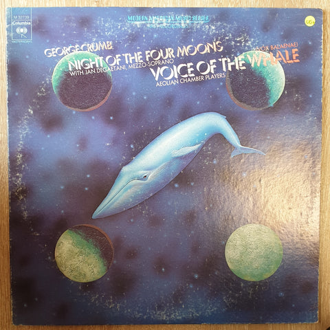 George Crumb ‎– Voice Of The Whale / Night Of The Four Moons - Vinyl LP Record - Very-Good+ Quality (VG+)