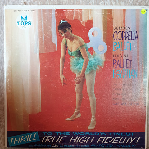Delibes - Coppelia Ballet I-II -  Vinyl LP Record - Very-Good+ Quality (VG+)