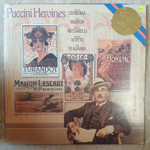 Puccini Heroines - Vinyl LP Record - Very-Good+ Quality (VG+)