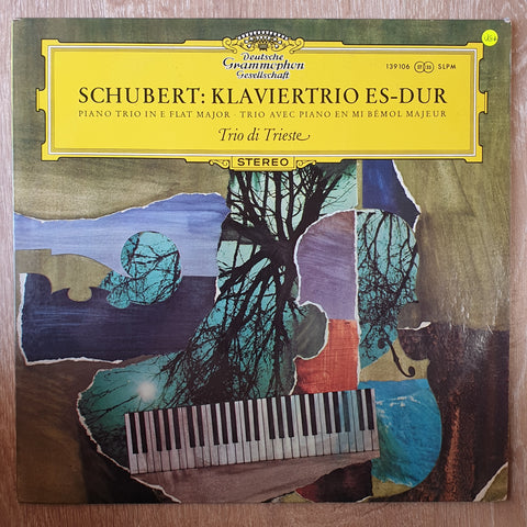 Schubert Trio Di Trieste ‎– Klaviertrio Es-dur -  Vinyl LP Record - Very-Good+ Quality (VG+)
