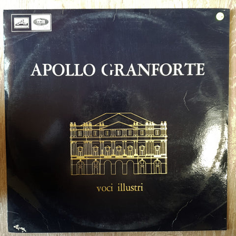 Apollo Granforte ‎– Voci Illustri ‎- Vinyl LP Record - Very-Good+ Quality (VG+)