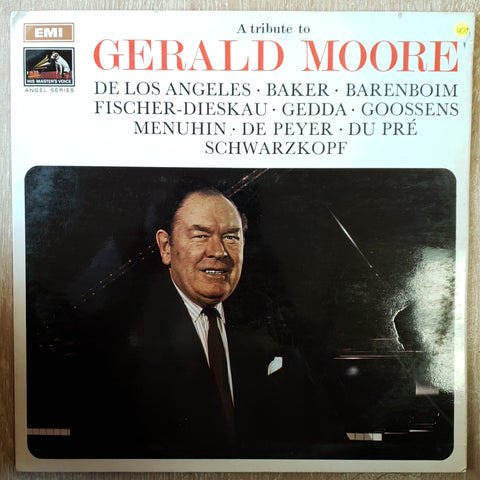 Gerald Moore ‎– A Tribute To Gerald Moore ‎- Vinyl LP Record - Very-Good+ Quality (VG+)