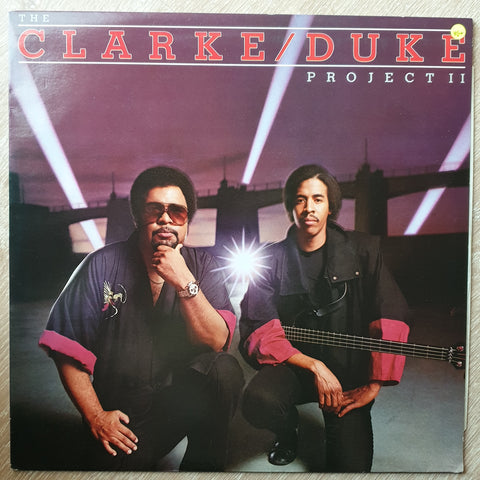 The Clarke/Duke Project ‎– The Clarke / Duke Project II - Vinyl LP Record - Very-Good+ Quality (VG+)
