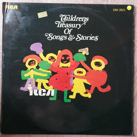 Children's Treasury Of Songs & Stories - Vinyl LP - Opened  - Very-Good+ Quality (VG+)