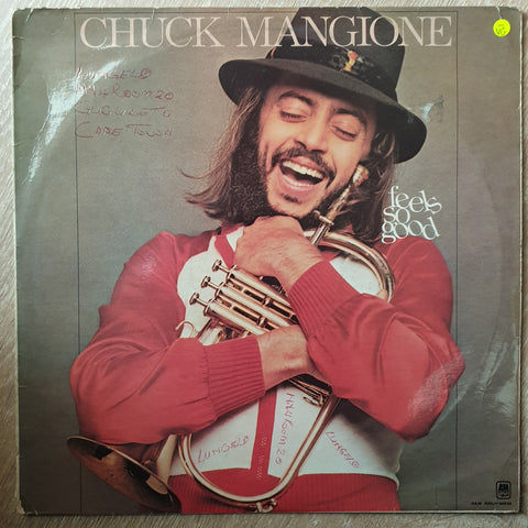 Chuck Mangione - Feels Good -  Vinyl Record - Opened  - Very-Good- Quality (VG-)