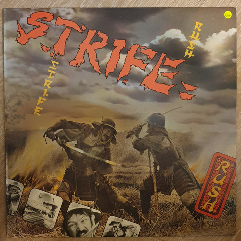 Strife ‎– Rush -  Vinyl LP Record - Very-Good+ Quality (VG+)