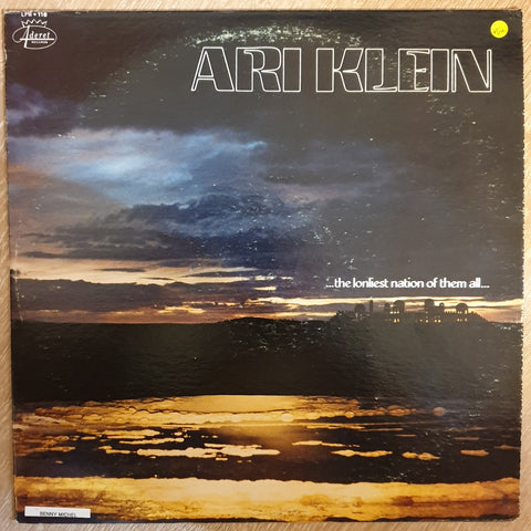 Ari Klein -  Vinyl LP Record - Very-Good+ Quality (VG+)