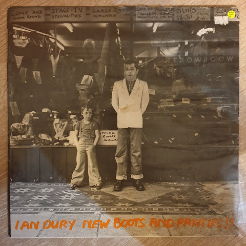 Ian Dury - New Boots and Panties - Vinyl LP Record - Opened  - Very-Good Quality (VG)