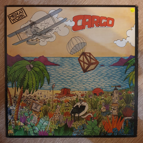 Men At Work - Cargo - Vinyl LP Record - Opened  - Very-Good+ Quality (VG+)