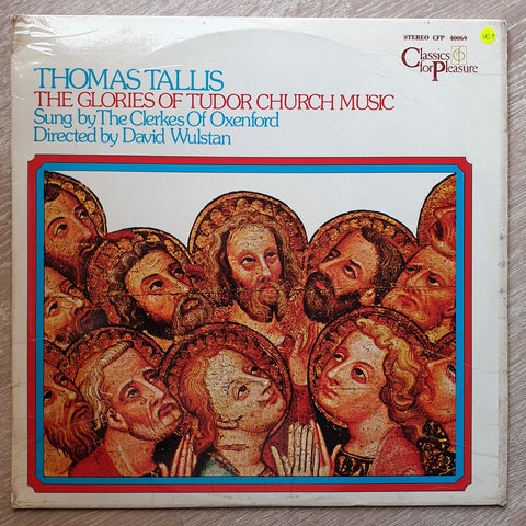 Thomas Tallis  ‎– The Glories Of Tudor Church Music -  Vinyl LP Record - Very-Good+ Quality (VG+)