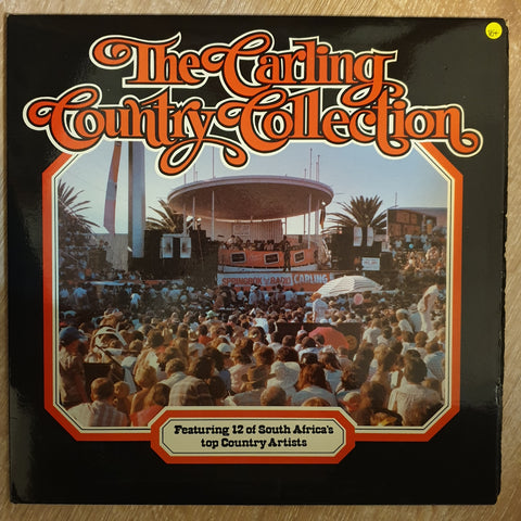 Carling Country Collection - Featuring 12 of South Arica's top Country Artists -  Vinyl LP Record - Very-Good+ Quality (VG+)