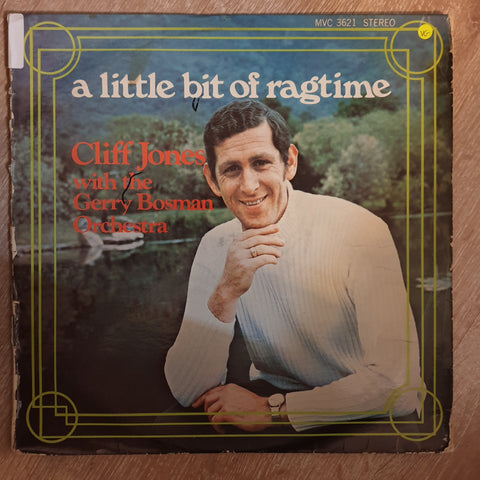 Cliff Jone With the Gerry Bosman Orchestra - Litle Bit of Ragtime. - Vinyl LP Record - Opened  - Very-Good Quality (VG)