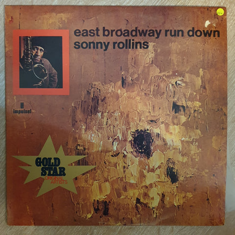Sonny Rollins ‎– East Broadway Run Down -  Vinyl LP Record - Very-Good+ Quality (VG+)